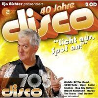 40 JAHRE DISCO: 70´S BEST MIT SNOOPY UVM. 2 CD NEU
