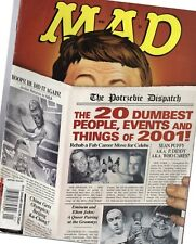 2002 (Jan.)  Mad Magazine, #413 The 20 Dumbest People, etc. of 2001 ~  Very Good