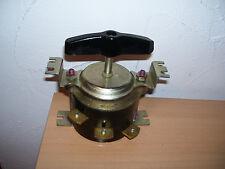 INTERRUTTORE 220v 63a 380v 40a Vintage Steampunk Rotary Switch Interruttore Girevole BACHELITE