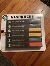 59 Starbucks Nespresso capsules *READ*