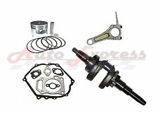 HONDA GX390 GENERATOR ROLLER KIT WITH LONG CRANKSHAFT PISTON RINGS CON ROD