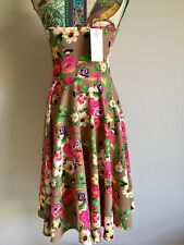 "BNWT ""PRETTY YOUNG THING"" STRAPLESS FIT N FLAIR A-LINE DRESS SIZE M MADE IN USA"