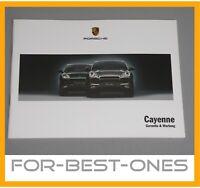 NEU Porsche Cayenne S / Turbo 955 9PA Serviceheft Pflegepass Garantie 2002-2007