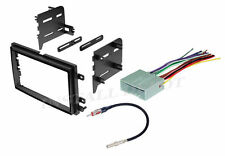 FORD STEREO RADIO DASH INSTALLATION MOUNTING KIT TRIM F-150 WIRING HARNESS & ANT