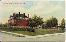 Delaware Hospital in Wilmington DE Postcard