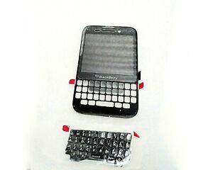 BlackBerry Q5 LCD Black Screen & Digitizer Assembly+Keypad BLACK