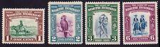 N.BORNEO 1939 small lot of 4v MH @P916
