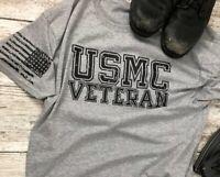 Marines USMC Veteran T Shirt Marine Corps Veteran