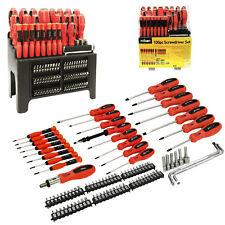 100pc Rolson Tools Piece Screwdriver Bit Set Kit Torx Precision Ratchet Phillips