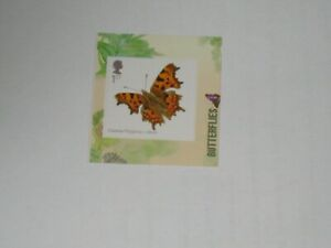 2013 PM39 Single Stamp From The Butterflies Booklet - Comma SG 3510