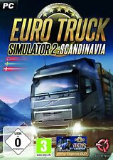 Euro TRUCK SIMULATOR 2: Scandinavia (PC, Steam Key Download Code) non DVD