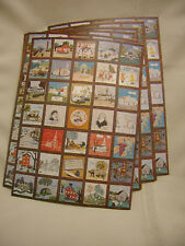 "Lot of 8 Vintage 1976 Postcard Avon Ohio Avon Quilt  5 3/4"" X 8"" Not Used"