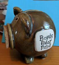 Boyd's Bear Fund Piggy Bank