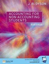 Accounting for Non-accounting Students By J.R. Dyson. 9780273683858