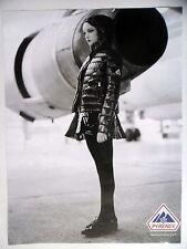 PUBLICITE-ADVERTISING :  PYRENEX  2014 Doudoune,Avions