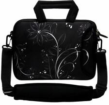 """LUXBURG 14"""" Inches Design Laptop Sleeve With Shoulder Strap & handle #EU"""