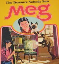 THE TREASURE NOBODY SAW  MEG HOLY BETH WALKER  Golden Press 1970 Mystery 3