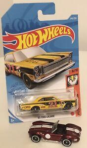Hot Wheels '65 Ford Galaxie Treasure Hunt/Shelby Cobra 427 Super Treasure Loose