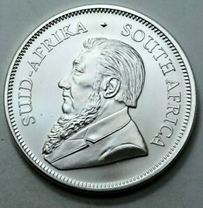 2020 1 OZ FINE SILVER SOUTH AFRICA KRUGERRAND SILVER BULLION COIN ROUND NEW./NR!