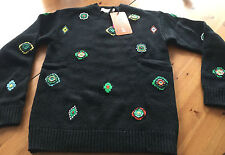 KENZO X h&m pull laine pull en laine hommes pull jumper wool taille size XS