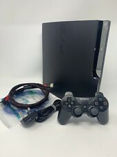 Sony PlayStation 3 Slim 320 GB Black Console - Same Day Dispatch