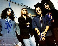 CANDLEBOX HAND SIGNED AUTOGRAPHED GROUP PHOTO! FAR BEHIND! WITH PROOF + C.O.A.!