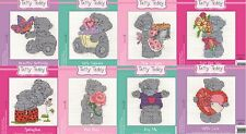 DMC Me to You - Full Set of 8 Tatty Teddy Mini Cross Stitch Kits (BL1070)