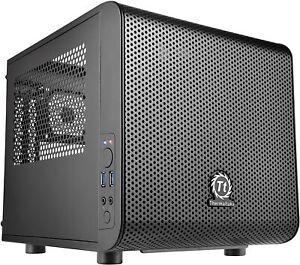 Thermaltake Core V1 SPCC Mini ITX - Cube Gaming Computer Case - Brand New