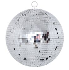 "Small 8"" Mirror Glass Disco Ball DJ Dance Home Party Bands Club Stage Lightning"