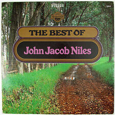 JOHN JACOB NILES The Best Of John Jacob Niles LP 1967 FOLK NM- NM-