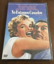 NO ESTAMOS CASADOS MARILYN MONROE - DVD - 82 MIN - NEW & SEALED NUEVA EMBALADA