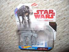 Star Wars Last Jedi Hot Wheels Starships - Heavy Assault Walker - dated 2017