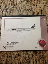 BOEING 757 POWERPLANT NORTHWEST AIRLINES TECHNICAL TRAINING MANUAL