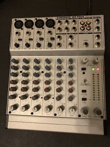Behringer Mixer Eurorack MX 802A 8 Channel with Power Supply.