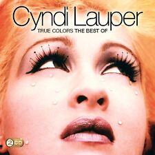 Cyndi Lauper TRUE COLORS : BEST OF 36 Songs HITS COLLECTION Colours NEW 2 CD