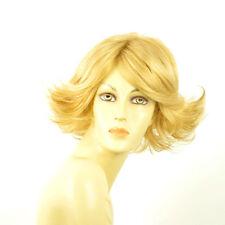 Perruque femme courte blond clair doré FLORE LG26