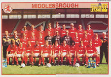 N°307 - 308 MIDDLESBROUGH.FC TEAM Premier League 1997 MERLIN STICKER VIGNETTE