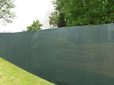 6' x 50' Dark Green Economy Privacy Screen - 85% Blockage