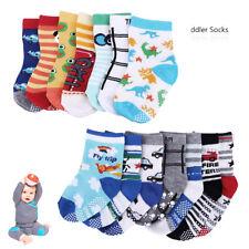 14X Baby.Jungen Mädchen Socken.Strümpfe.Anti Rutsch.ABS.Baumwolle Neu