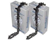 """2 x Sägekette passend für Aldi, AEG, AL-KO, Bosch 40cm  1,3  3/8""""  57 Treibglied"""