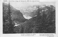 BF36665 valle di fassa e gruppo del catinaccio dalla strada del dolomiti italy