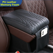 Car Accessories Armrest Cushion Cover Center Console Box PU Memory Foam Pad