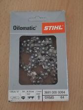 "Sägekette 56TG 25cm 1//4/"" Carving Chain passend für Stihl MSE160 MSE180 MSE200 Ke"