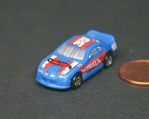 Hot Wheels Atomix Metro Racer Blue Car Mattel Micro Vehicle