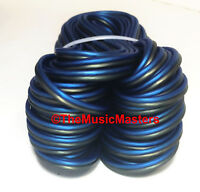 18 Gauge 15/' ft SPEAKER WIRE Blue Black Premium HQ Car Audio Home Stereo Cable