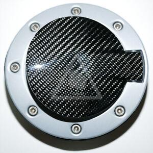 Real Carbon Fiber Fuel Door Petrol Flap Gas Cap Cover for HYUNDAI Tiburon