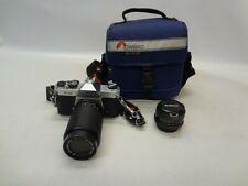 Pentax K1000 SLR Film Camera Bundle *See Notes*