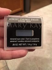 Mary Kay Mineral Eye Color Midnight Star .05 oz NEW!