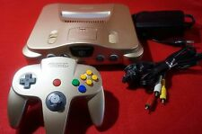 N64 Console Limited Edition toys R' Us Gold N64 NTSC Japan Rare Controller 777