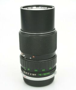 Olympus Zuiko 75-150mm Telephoto Zoom Lens 'Silver Nose' OM mount with fungus